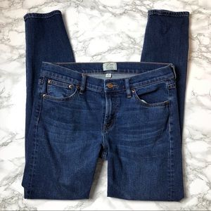 J Crew Toothpick Selvedge Denim Jeans McHenry wash